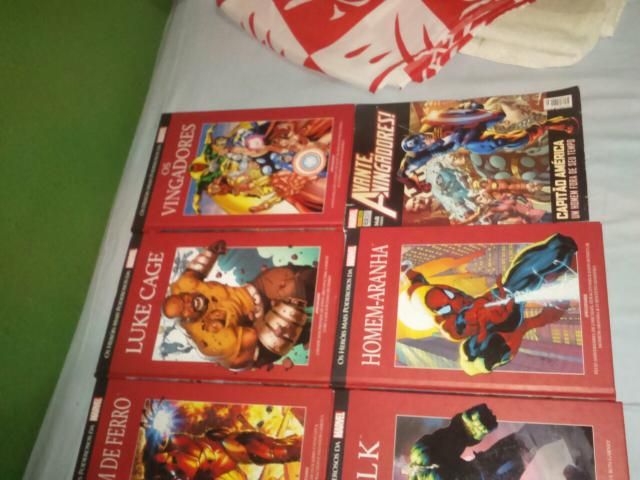 Revistas marvel dc