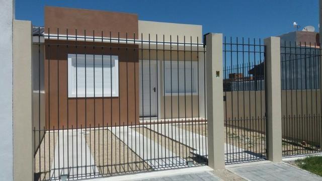 Excelente Casa Construção Nova Dois Dormitórios-Lot. Visconde Graça