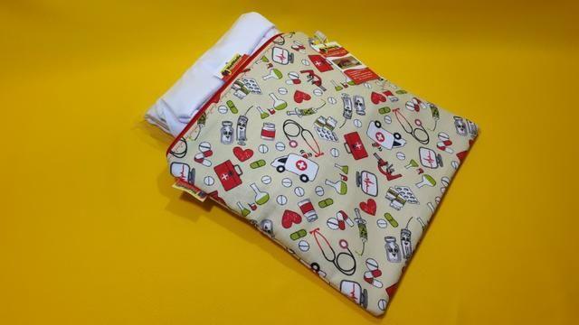 a2616be025ec61 Porta jaleco em tecido 100% algodão - MedMedic