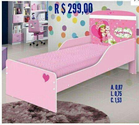 7a04439257 Cama infantil feminina!!!!! 299 passo cartão - Móveis - Goiânia ...