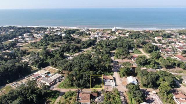 Terreno à venda, 384 m² por r$ 9.000 - praia das palmeiras - itapoá/sc - Foto 3