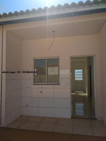 Casa para venda em várzea grande, paiaguas, 2 dormitórios, 1 banheiro, 2 vagas - Foto 10