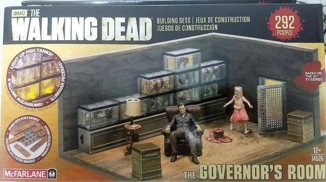 Mcfarlane - The Governor's Room - Conjunto Para Montar!