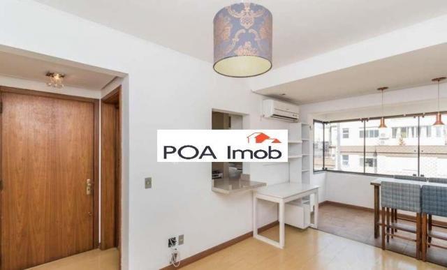 Apartamento com 1 dormitório para alugar, 46 m² por r$ 1.800/mês - petrópolis - porto aleg