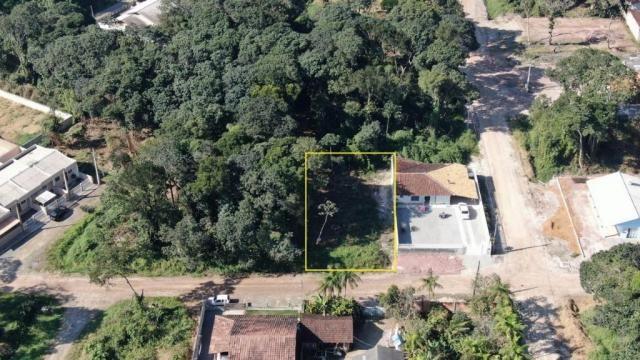 Terreno à venda, 384 m² por r$ 9.000 - praia das palmeiras - itapoá/sc