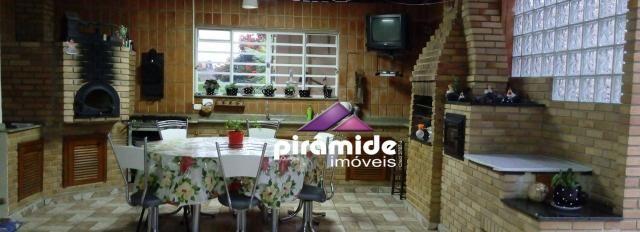 Chácara com 3 dormitórios à venda, 3900 m² por r$ 850.000,00 - condomínio lagoinha - jacar