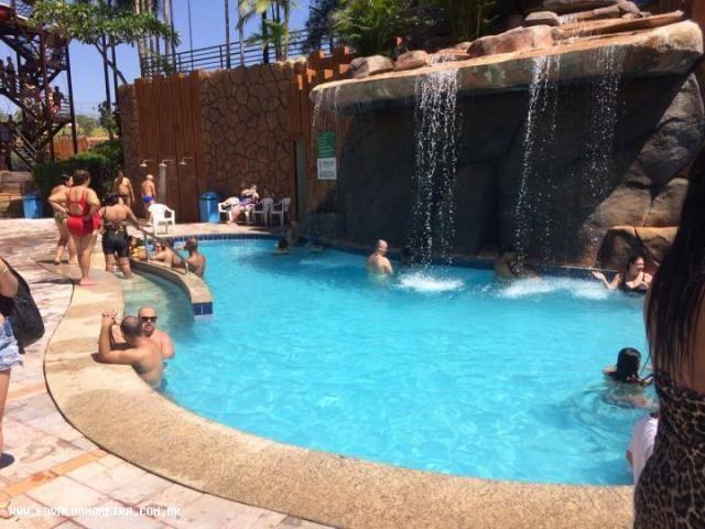 Apartamento 2 quartos para temporada em caldas novas, golden dolphin grand hotel, 2 dormit - Foto 2
