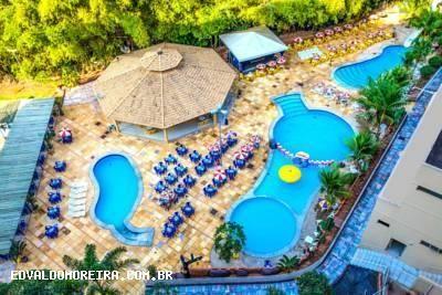 Flat para temporada em caldas novas, golden dolphin grand hotel, 1 dormitório, 1 suíte, 1