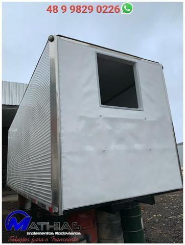 Carroceria furgão frigorífico caminhão truck Mathias Implementos