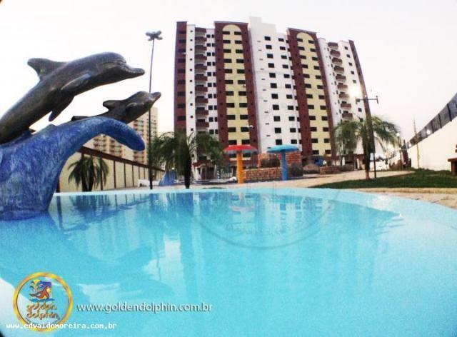Apartamento 3 quartos para temporada em caldas novas, golden dolphin supreme, 3 dormitório - Foto 2