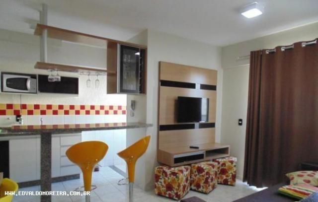 Apartamento 1 quarto para temporada em caldas novas, cezar park, 1 dormitório, 1 banheiro, - Foto 14