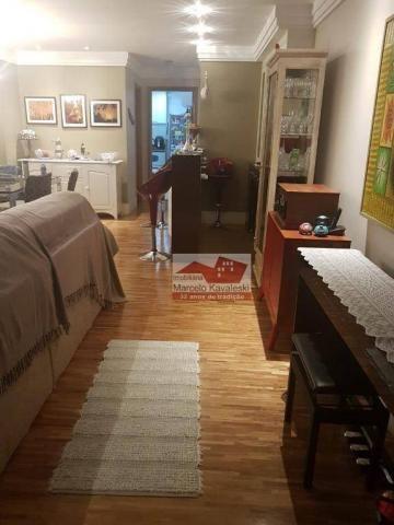 Apartamento com 3 dormitórios para alugar, 140 m² por R$ 5.000/mês - Ipiranga - São Paulo/ - Foto 8