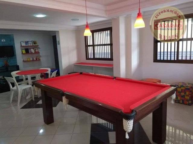 Apartamento com 2 dormitórios à venda, 89 m² por R$ 285.000 - Vila Tupi - Praia Grande/SP - Foto 17