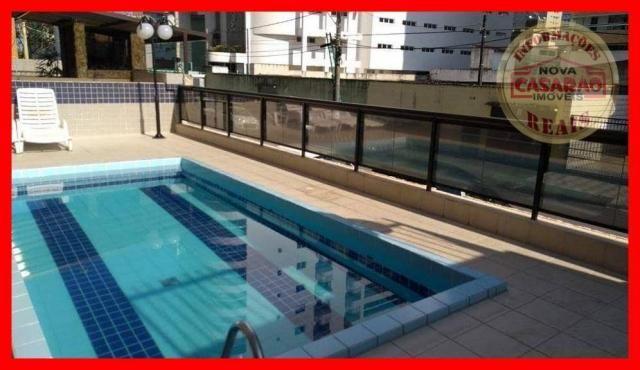 Apartamento com 2 dormitórios à venda, 89 m² por R$ 285.000 - Vila Tupi - Praia Grande/SP