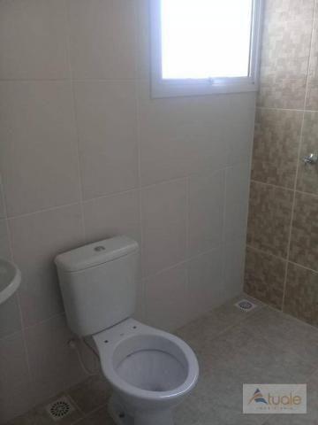 Apartamento com 2 dormitórios à venda, 59 m² - jardim santa rita i - nova odessa/sp - Foto 7