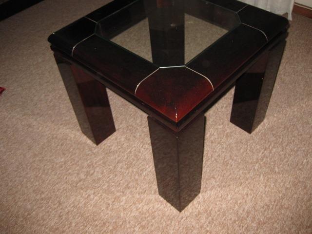 Mesa de Centro + mesa de canto/apoio em Laca - Foto 4
