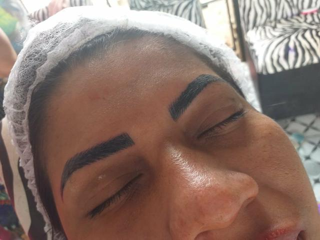 Micropigmentaçao combo sobrancelha +lábios 300 - Foto 4