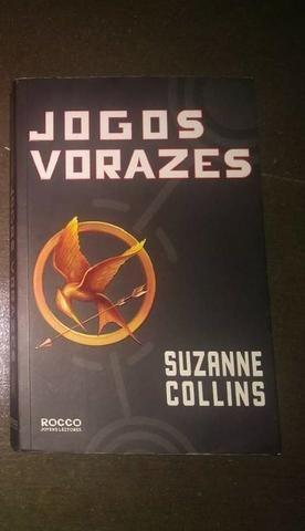 Livro Jogos Vorazes (usado)