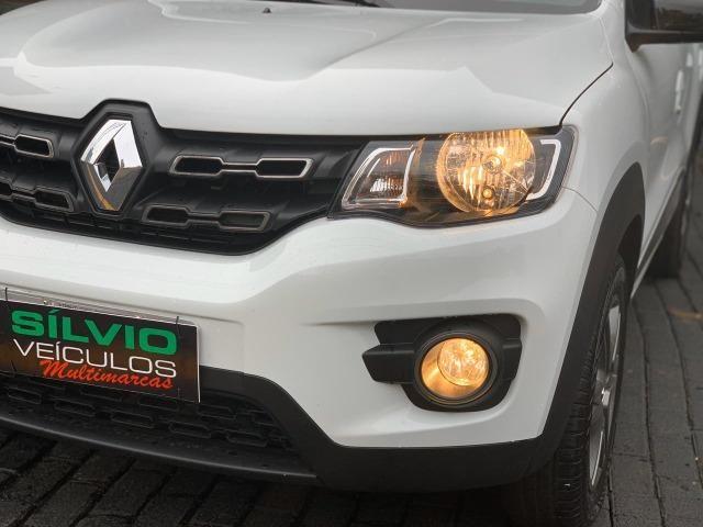 Kwid Intense 1.0 Flex 2019 Branco Apenas 11 mil km - Foto 17