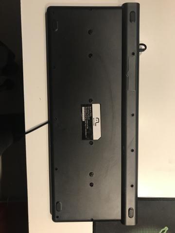 Teclado Multilaser - Multimídia com 2 portas USB, ACOMPANHA MOUSEPAD GRÁTIS - Foto 3