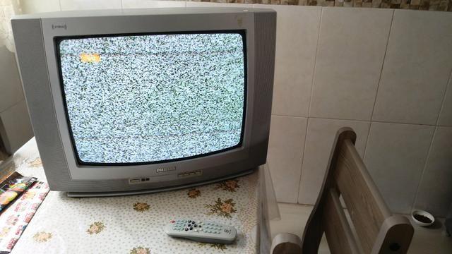 "TV 20"" funcionando perfeitamente. 100,00 - Foto 2"