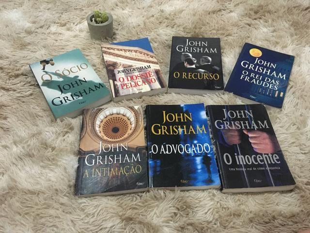 Coleção John Grisham - 7 volumes