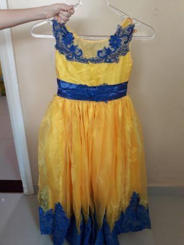 Vestido de Festa de 5 a 7 anos - Foto 3