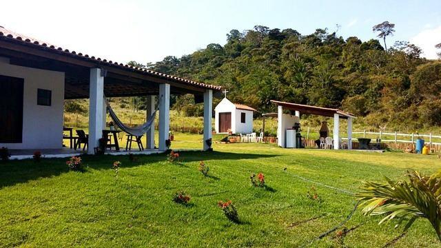 Sítio 8.000m², casa 6 suítes, lago, piscina, 600m BR-324, 22km Salvador - Foto 3