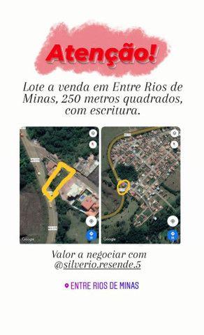 Lote em Entre Rios de Minas
