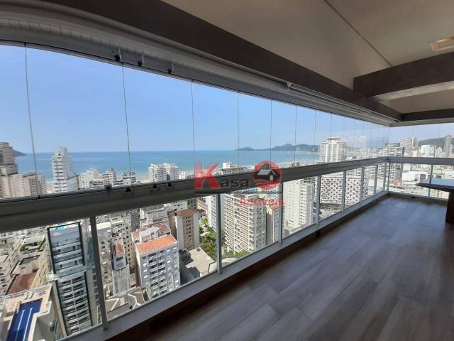 Cobertura com 4 dormitórios à venda, 410 m² por R$ 7.500.000,00 - Gonzaga - Santos/SP - Foto 8