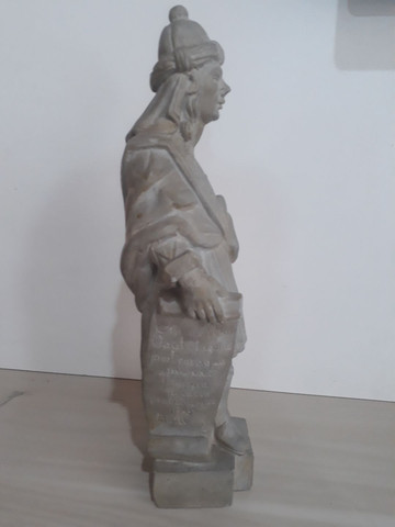 Profeta Baruc em pedra sabão  - Foto 4