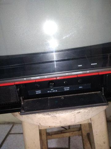 Televisão Antiga Toshiba TS-168 - Foto 3