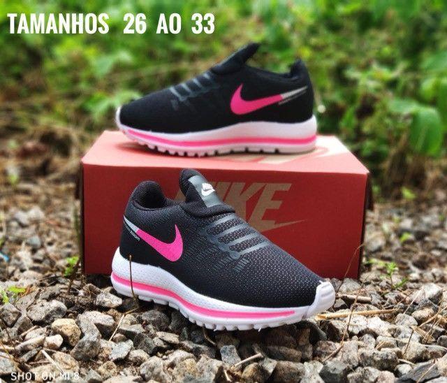 Tênis Infantil Nike Várias Cores Novo - Foto 4