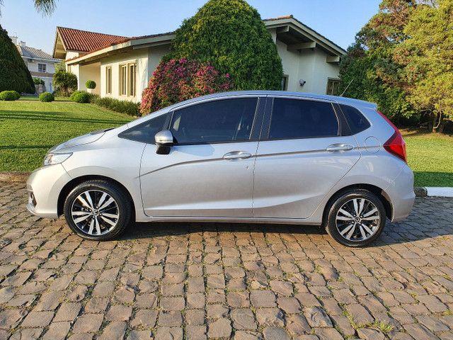 Fit Ex 1.5 Automatico 2018 Unica Dona Baixo km 44000. - Foto 9
