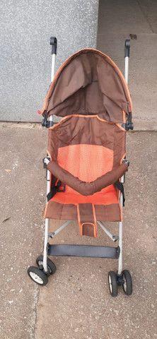 Carrinho de bebê passeio guarda chuva