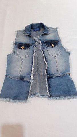 Colete jeans Balada Rock