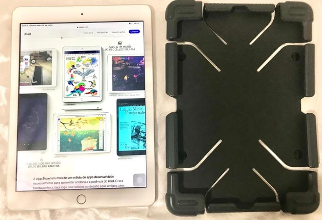 iPad 9.7 Apple (Wi-Fi) 32GB Câmera 8MP Dourado - Foto 4