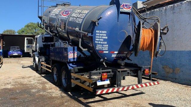 Caminhão Limpa Fossa E Hidrojato De 16 000 Litros - Foto 10