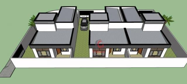 Casa linear com 2 dormitórios à venda, 62 m² Terra Firme - Rio das Ostras/RJ
