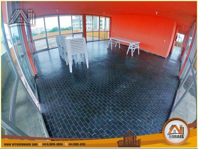 Apartamento à venda, 117 m² por R$ 370.000,00 - Vila União - Fortaleza/CE - Foto 17