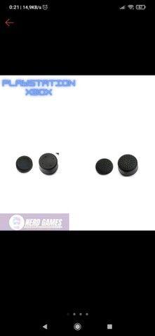 2 Pares de Grip para Controle XBox 360 one PS3 PS4 Universal