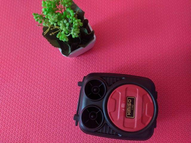 Caixa de som Bluetooth portátil - Foto 3