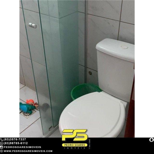 (MOBILIADO) Apartamento com 2 dormitórios à venda, 60 m² por R$ 360.000 - Tambaú - João Pe - Foto 8