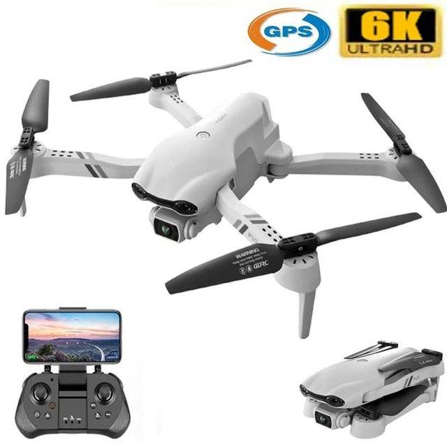 Brinquedo Drone f10 GPS câmera 6K Wifi FPV  - Foto 2