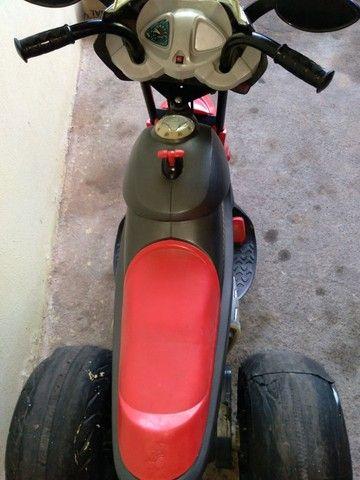 Moto elétrica bandeirante com bateria de moto. - Foto 2
