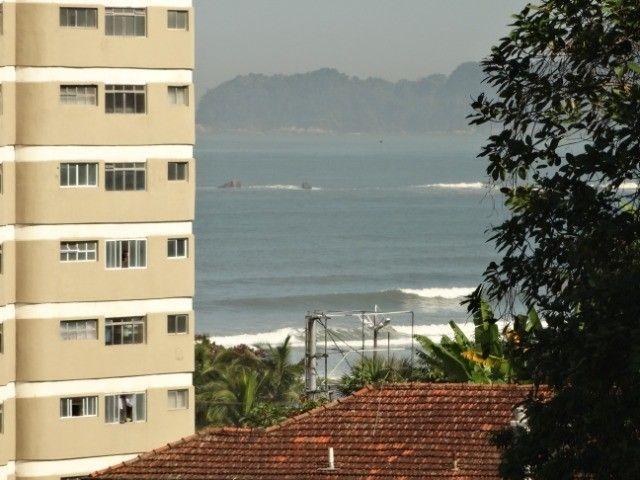 APT Reformado á 3 minutos da Praia c/ WIFI - * - Santos/São Vicente - Foto 12