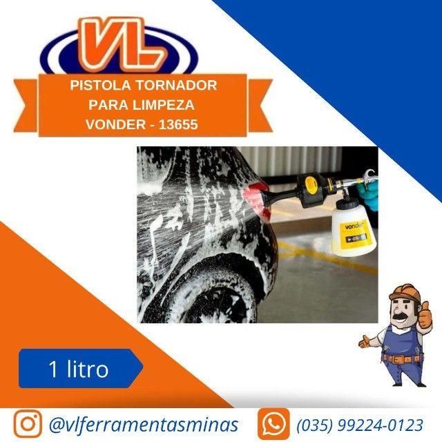Pistola Jato de Espuma Vonder para Limpeza Automotiva com Caneca  - Foto 3
