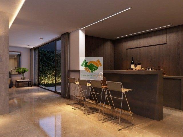 Novos apartamentos de luxo com 3 e 4 quartos à venda no bairro Funcionários em BH - Foto 12