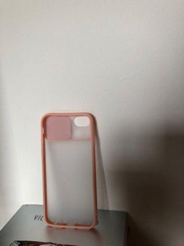 Capinha rosa IPhone 6S - Foto 3