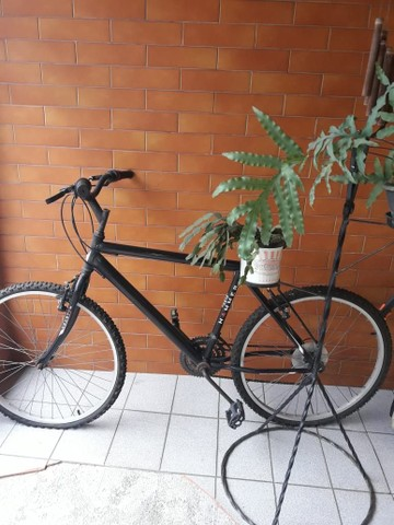 Bicicleta com marcha.